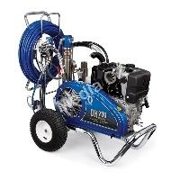 Stříkací zařízení s benzínovým, dieselovým a hydraulickým pohonem