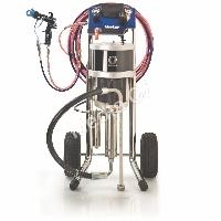 Stříkací zařízení s vzduchovým pohonem