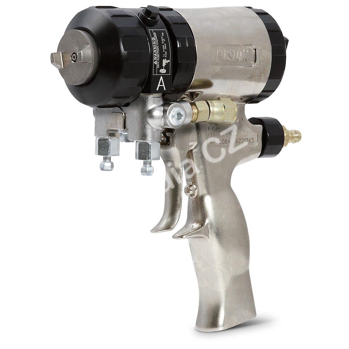 Stříkací pistole dvoukomponentní