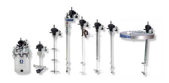 NOVINKA: Vysoce účinná, radiální míchadla Graco. Optimalizujte své spotřeby tlakového vzduchu.