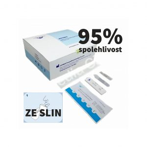 Sada JOYSBIO COVID-19 antigen rapid test ze slin