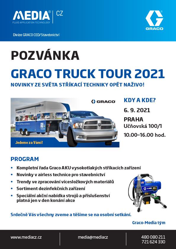 Graco Truck tour 2021 Praha